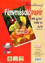 Fénymásolópapír A/4, 80g, 100ív/csg, fehér