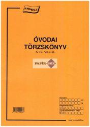 A.Tü.723. Óvodai törzskönyv A/4