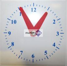 Műanyag óra (tanuló óra)