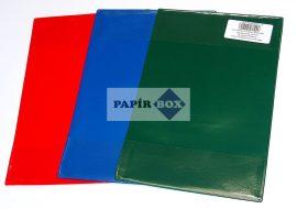Ellenőrző borító, PVC, színes, bújtatós