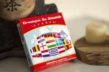 Országok és zászlóik - Európa - Memóriakártya